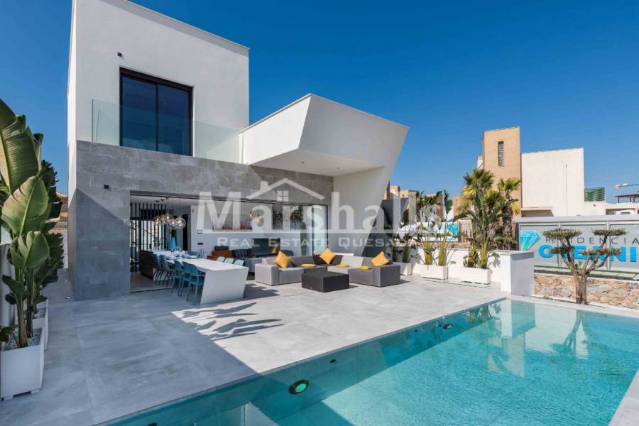 New Build - Detached Villa - Ciudad Quesada - Central quesada